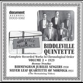 Biddleville Quintette: Complete Recorded Works, Vol. 2 *