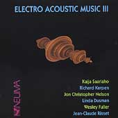 Electro Acoustic Music III