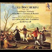 Boccherini: Fandango, etc / Savall, Le Concert des Nations