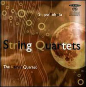 Seppo Pohjola: String Quartets nos 1-4  / The Kamus Quartet