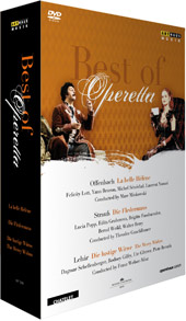 The Best of Operetta / Offenbach, Lehar, Strauss [3 DVD]