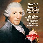 Haydn: Trumpet and Horn Concertos / Wallace, Thompson