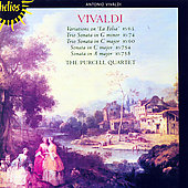 Vivaldi: Variations, Trio Sonatas / Purcell Quartet