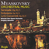 Myaskovsky: Serenade, Sinfonietta, etc / Y. Samoilov, Moscow