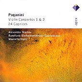 Paganini: Violin Concertos 1& 2, 24 Caprices / Alexander Markov, et al