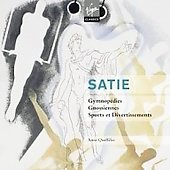 Satie: Gymnopedies, Sports et divertissements, etc / Anne Queff&eacute;lec, Catherine Collard