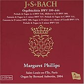 Bach: Organ Works / Margaret Philips