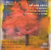 Grieg: In Autumn; Piano Concerto; Symphony in C minor [Hybrid SACD]