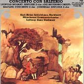 Concerto con Salterio - L. Mozart, Salulini, Jommelli