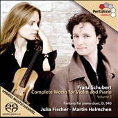 Franz Schubert: Complete Works For Violin, Vol. 2 / Julia Fischer