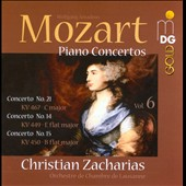 Mozart: Piano Concertos, Vol. 6 / Zacharias