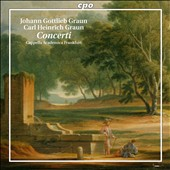 J.G. Graun, C.H. Graun: Concerti