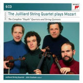 Juilliard String Quartet plays Mozart: The Complete 'Haydn' Quartets, nos 14 - 19 & String Quintets / John Graham, viola II [6 CDs]