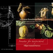 Giovanni Benedetto Platti: Sonatas for Harpsichord / Ravizza