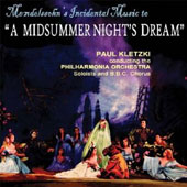 Mendelssohn's Incidental Music to A Midsummer Night's Dream / Kletzki