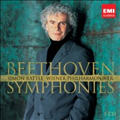 Beethoven: Complete Symphonies / Simon Rattle, Vienna PO