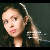 Vladimir Genin: Seven Melodies for the Dial / Olga Domnina, piano