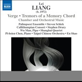 Lei Liang (b. 1972): Verge; Tremors of a Memory Chord; Aural Hypothesis; Five Seasons / Pi-hsien Chen, piano; Wu Man, pipa