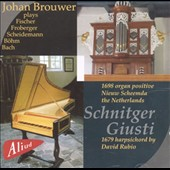 Johan Brouwer plays the 1679 Harpsichord by David Rubio in works by Bohm, Fischer, Froberger, Kotter, Soldt, Bach, Scheidemann