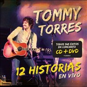 Tommy Torres: 12 Historias en Vivo [CD/DVD] *
