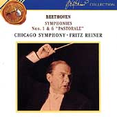 Beethoven: Symphonies nos 1 & 6 / Fritz Reiner, Chicago SO