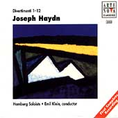 Haydn: Divertimenti Volumes 1-4 / Klein, Hamburg Soloists
