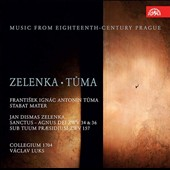 Music from Eighteenth Century Prague - works by Zelenka, Tuma, Orschler / Collegium 1704