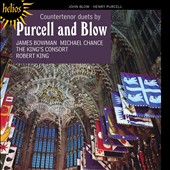 Countertenor Duets by Purcell and Blow / James Bowman (countertenor), Michael Chance (countertenor), The KingÆs Consort, Robert King