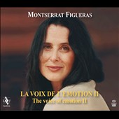 The Voice of Emotion II - A tribute to soprano Montserrat Figueras by Jordi Savall [2 CDs + DVD]