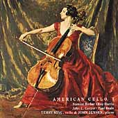Merit - American Cello I - Barber, et al / King, Jensen
