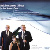 Music from America & Abroad for Oboe, Bassoon & Piano - Works of Graham Waterhouse, Alan Richardson, Michael Head et al. / John Dee, oboe; Timothy McGovern, bassoon; Cara Chowning, piano