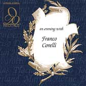Recitals - An Evening with Franco Corelli