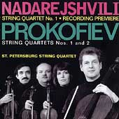 Nadarejshvili, Prokofiev: String Quartets / St. Petersburg