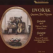 Dvor&#225;k: Quintets / Quatuor Sine Nomine, Dinkel, Pasquier