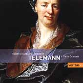 Telemann: Six Paris Quartets / Hazelzet, Trio Sonnerie