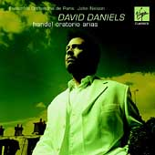 Handel: Oratorio Arias / Daniels, Nelson, Paris Ensemble