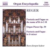 Organ Encyclopedia - Reger: Organ Works Vol 3 / Kaiser