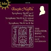 Haydn: Symphony no 82, 83, 84 / Goodman, Hanover Band