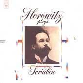 Horowitz plays Scriabin