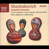 Trio - Shostakovich: Complete Concertos / Mullova, Kremer