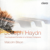 Haydn: Five Keyboard Sonatas / Malcolm Bilson