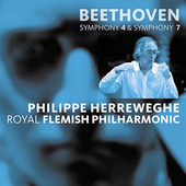 Beethoven: Symphonies no 4 & 7 / Herreweghe