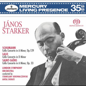 Schumann, Lalo, Saint-Sa&#235;ns: Cello Concertos / J&#225;nos Starker