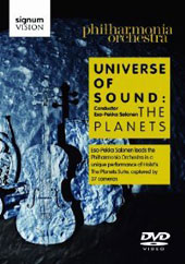 Holst - Universe of Sound: The Planets / Philharmonia Orchestra, Salonen - A unique performance captured by 37 cameras [DVD]