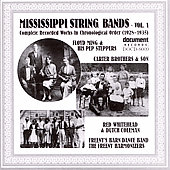 Various Artists: Mississippi String Bands, Vol. 1: 1928-1935