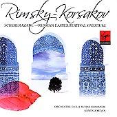 Rimsky-Korsakov: Scheherazade, etc / Jordan, Suisse Romande