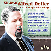The Art of Alfred Deller - Classic Vanguard Recordings
