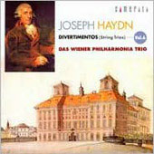 Haydn: Divertimentos (String Trios) Vol. 6 / Vienna Philharmonic Trio