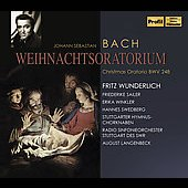 Bach: Christmas Oratorio BWV 248 / Langenbeck, Wunderlich, Sailer, et al