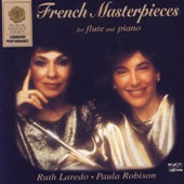 French Masterpieces for Flute and Piano - Fauré, Boulanger, Ravel, Poulenc / Robison, Laredo